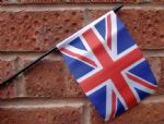 HAND WAVING FLAG (SMALL) - Union Jack